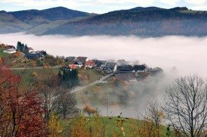 Der Dorfkern von Pfaffenberg