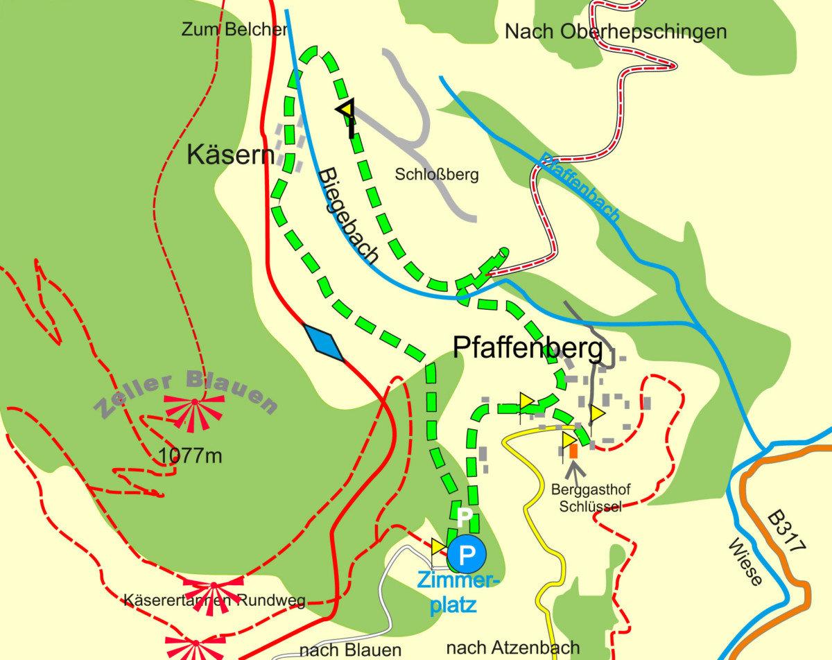 Käsern-Tannen-Rundweg