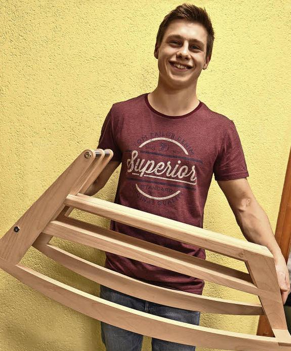 Fabian Ackermann Bundessieger Schreinerhandwerk